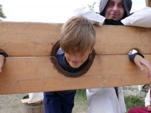 Jayden in the stockade