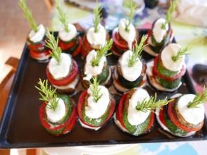 Garden Vegetable Napoleon