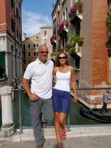 Brent and Benedicte Venice