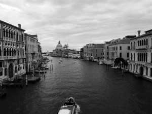 The Grand Canal in the morning