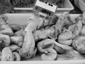 Yes they sell pigs tails